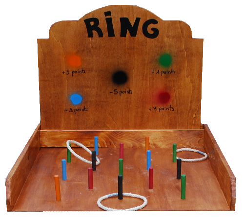 LA CASE DU JEU : RING